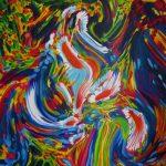 Acryl-Malerei Klaus Fliege